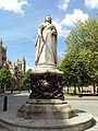 Queen Victoria statue, College Green, Bristol - DSC05683.JPG