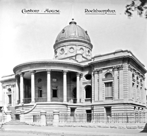Customs House, Rockhampton - The Customs House around the time of construction