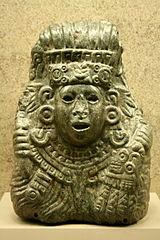 Busto de Quetzalcóatl