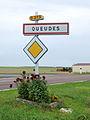 Queudes-FR-51-panneau d'agglomération.jpg