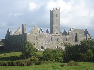 Bunratty Upper - Image: Quin Abbey