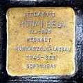 Rónai stolperstein Budapest09.jpg