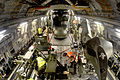RAF Merlin Helicopter Loaded onto Globemaster MOD 45150444.jpg
