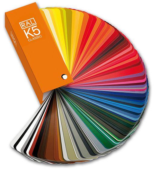 RAL K5 Fächer RGB