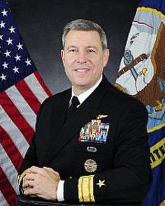 Thomas A. Cropper - Rear Entry Admiral Thomas A. Cropper, USN