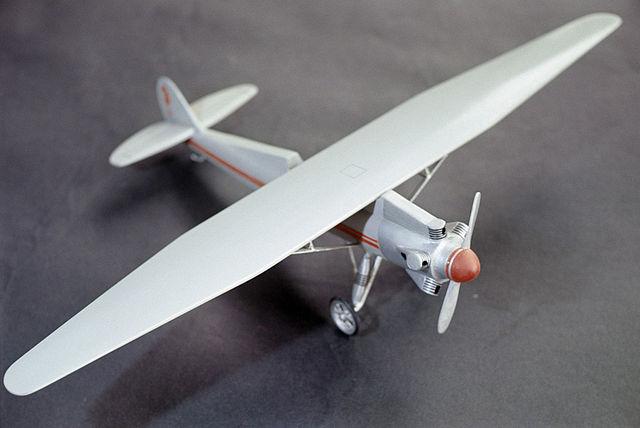 Модель одного из самолётов конструкции С.П.Королёва