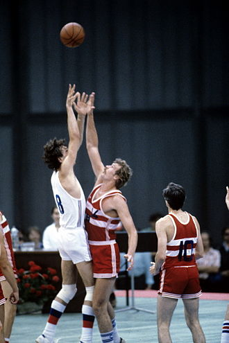 Basketball at the 1980 Summer Olympics - Image: RIAN archive 492659 1980 Olympic Games. Basketball. USSR vs. Czechoslovakia