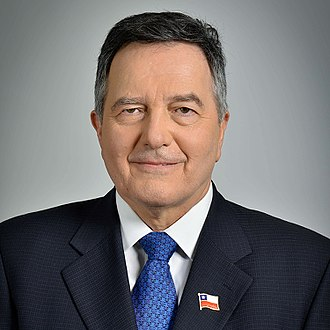 Ministry of Foreign Affairs (Chile) - Roberto Ampuero, the current Minister of Foreign Affairs.