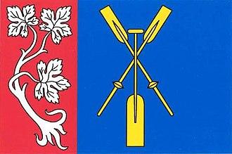Račice (Litoměřice District) - Image: Račice LI flag