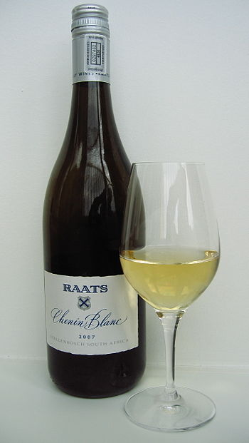 English: Raats Chenin Blanc 2007, a white wine...
