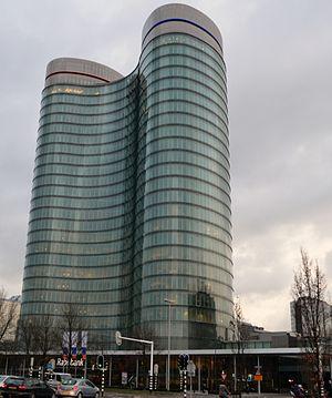 Rabobank Bestuurscentrum - The Rabotoren in January 2012