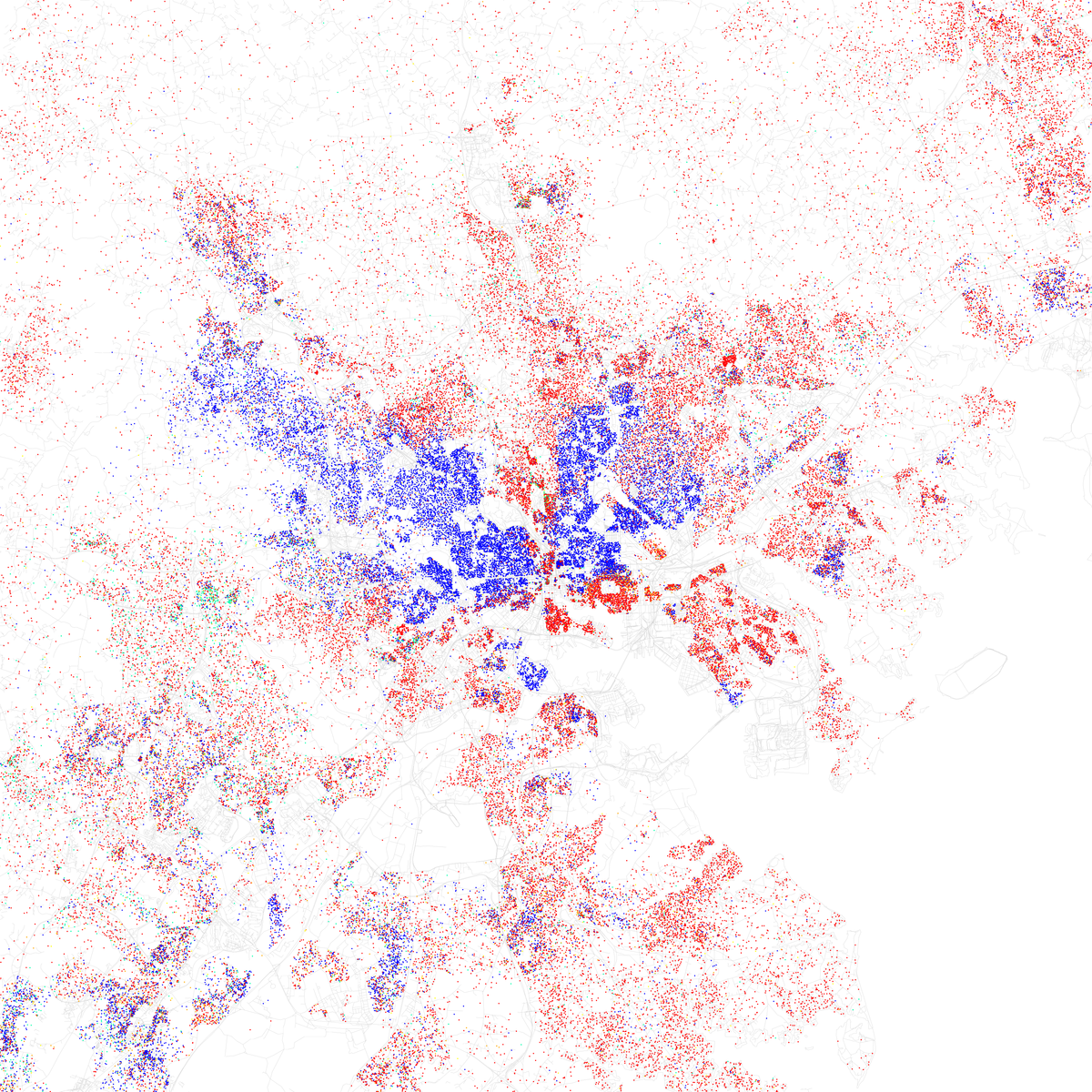 Ethnic Groups In Baltimore Wikipedia - Washington dc ethnicity map