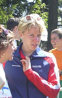 Radka Brožková Czech orienteering competitor