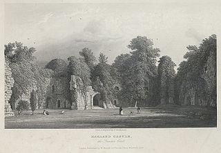 Ragland Castle, the Fountain Court