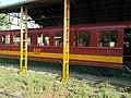 Railway coach F 05-412 at Mátravasút depot. - Gyöngyös.JPG