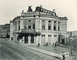 Raimund Theater - Raimund Theater in 1898