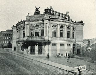 Raimund Theater - Raimund Theater in 1898