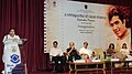 Rajiv Shukla addressing at the inauguration of a 'Retrospective of Rajesh Khanna', in New Delhi. The Minister of State for Information and Broadcasting, Shri Chowdhury Mohan Jatua.jpg