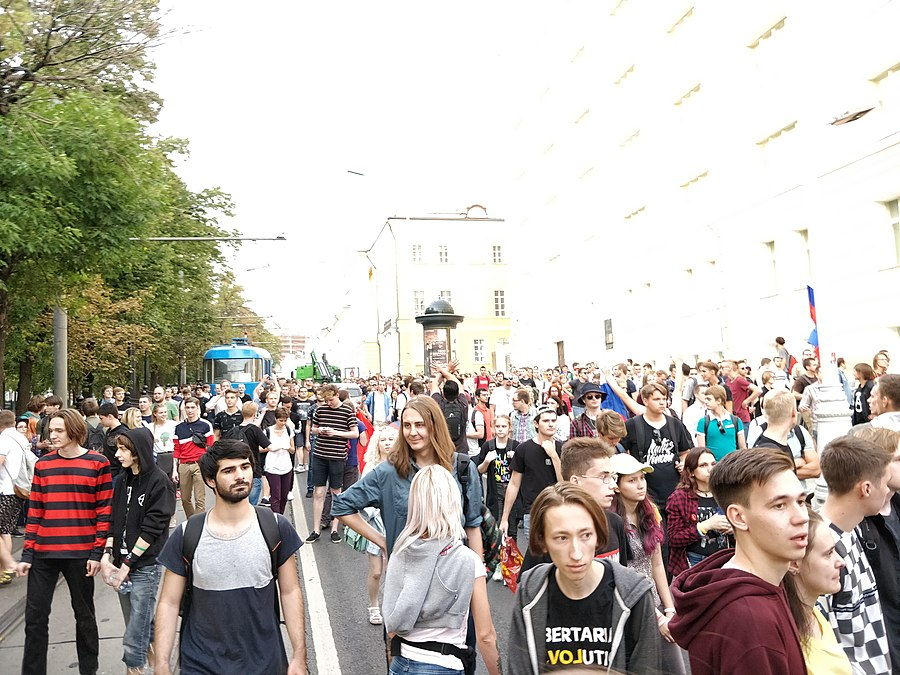 Rally against raising the retirement age (2018-09-09; Moscow) 40.jpg