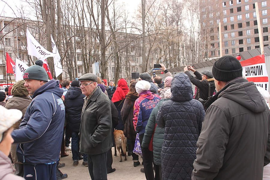 Rally for the termination of construction and restoration of the square (2018;11;17) 67.jpg