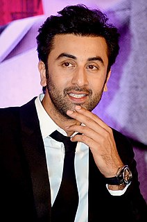 Ranbir Kapoor Indian film actor