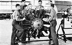 Randolph Field - 1938 - Flying Cadets in Engine Class.jpg