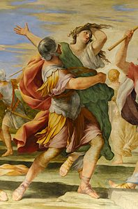 Rape of the Sabine Women Romanelli decoration Louvre.jpg