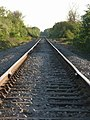 Rarely used railway line - geograph.org.uk - 422494.jpg