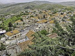Rashaya as seen from the citadel