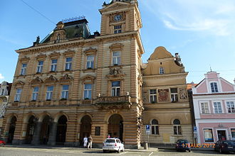 Domažlice - The town hall of Domažlice
