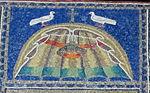 Ravenna, sant'apollinare nuovo, int., storie cristologiche, epoca di teodorico 05 colombe.jpg