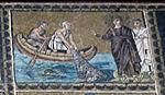 Ravenna, sant'apollinare nuovo, int., storie cristologiche, epoca di teodorico 16 chiamata degli apostoli.jpg