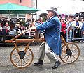 Ravensburg Rutenfest 2005 Festzug Draisine.jpg