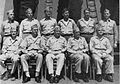 Rear Admiral Frank G. Fahrion with his staff aboard USS Wichita (CA-45), in 1945.jpg