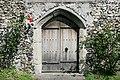 Rear door of St. Giles Church near Tonge - geograph.org.uk - 474420.jpg