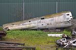 Rear fuselage of RF-84F Thunderflash (53-7524) (30288493630).jpg