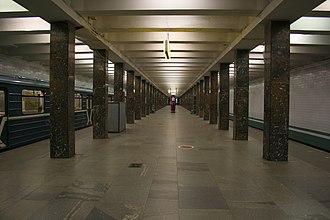 Rechnoy Vokzal (Moscow Metro) - Image: Rechnoy mm