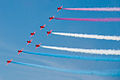 Red Arrows display at Portsmouth in July 2008 11.jpg