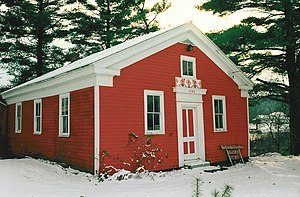Clymer, New York - Little Red Schoolhouse in 1997