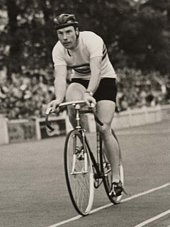 Reg Harris English cyclist