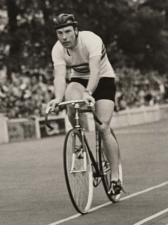 Reg Harris - Harris at the 1948 Olympic Games