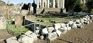 Regia - Panorama of the ruins of the Regia
