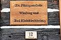 Reichenau Wiedweg Evang Pfarrhof Holzschild 23112012 493.jpg