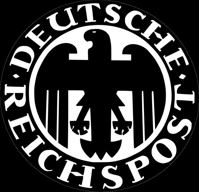 Reichspost-Emblem - Verkehrszentrum Muenchen 02
