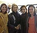 Reina Sofía junto a Cristina Kirchner, María Perceval y Vilma Ibarra en El Calafate.jpg