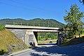 Reith bei Seefeld - Mittenwaldbahn - erste Brücke zw Aufngeb Reith und Brücke Kaltwasserbach.jpg