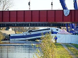 Eckwersheim derailment train crash in Alsace, France on 14 November 2015