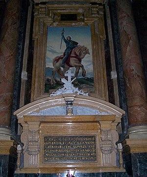 Obitius - Reliquary and altar of St. Obitius, Niardo.
