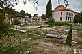 Remains of the public toilets (Vespasianae, latrinae) in the Roman Agora of Athens on June 24, 2020.jpg