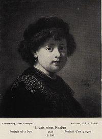 Rembrandt - Portrait of a Richly-dressed Boy.jpg